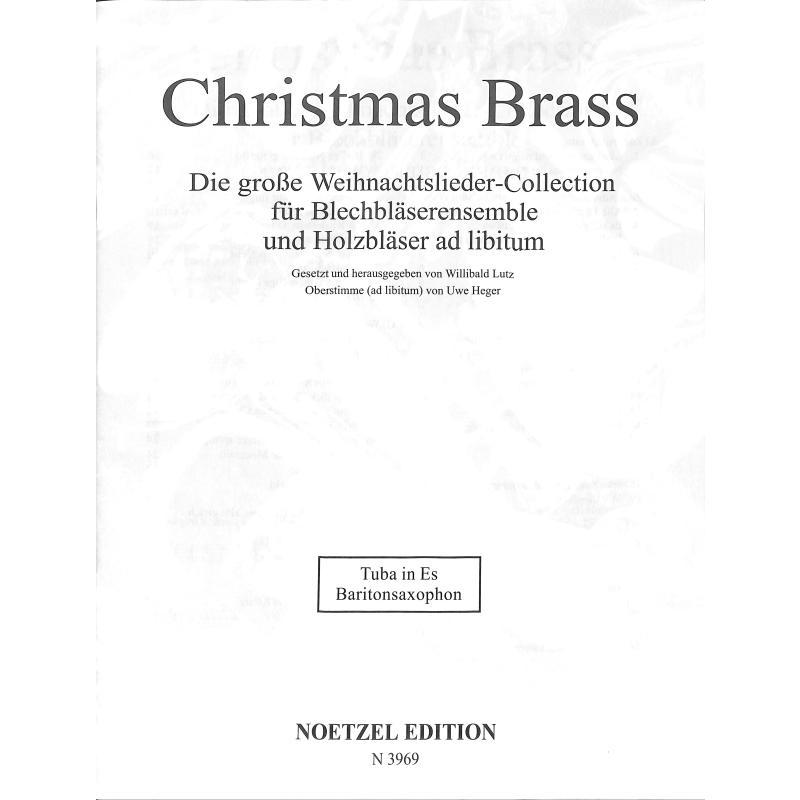 Titelbild für N 3969 - CHRISTMAS BRASS
