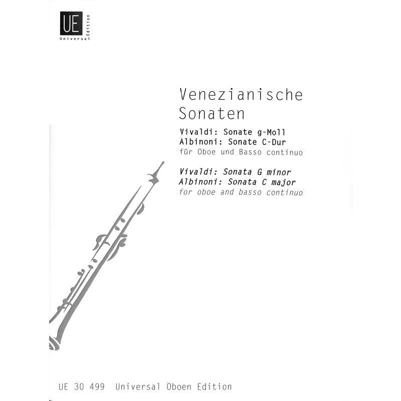 Titelbild für UE 30499 - VENEZIANISCHE SONATEN