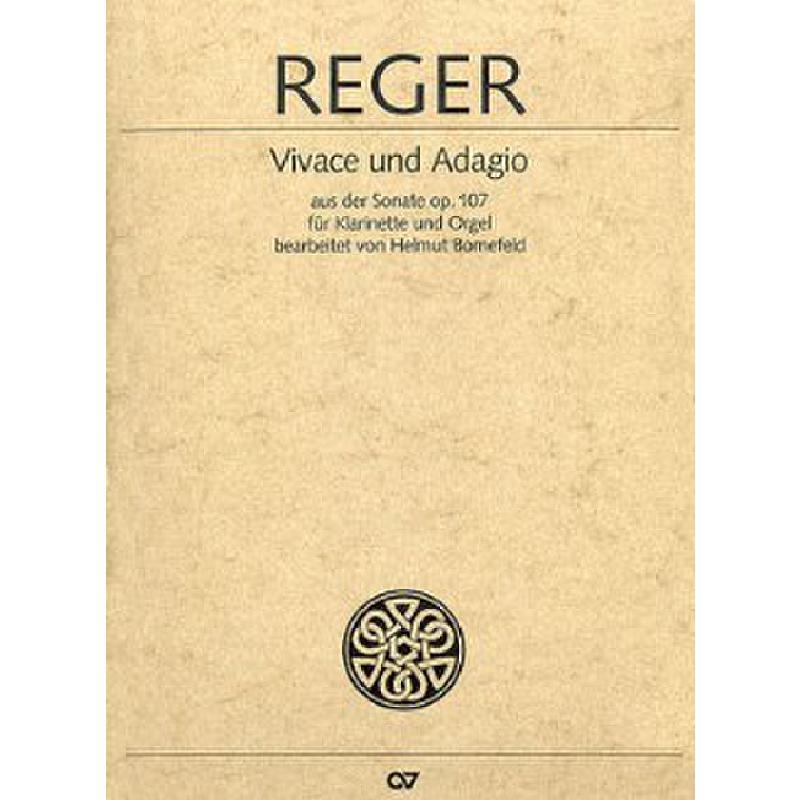 Titelbild für CARUS 29199-00 - Vivace + Allegro (Sonate op 107)