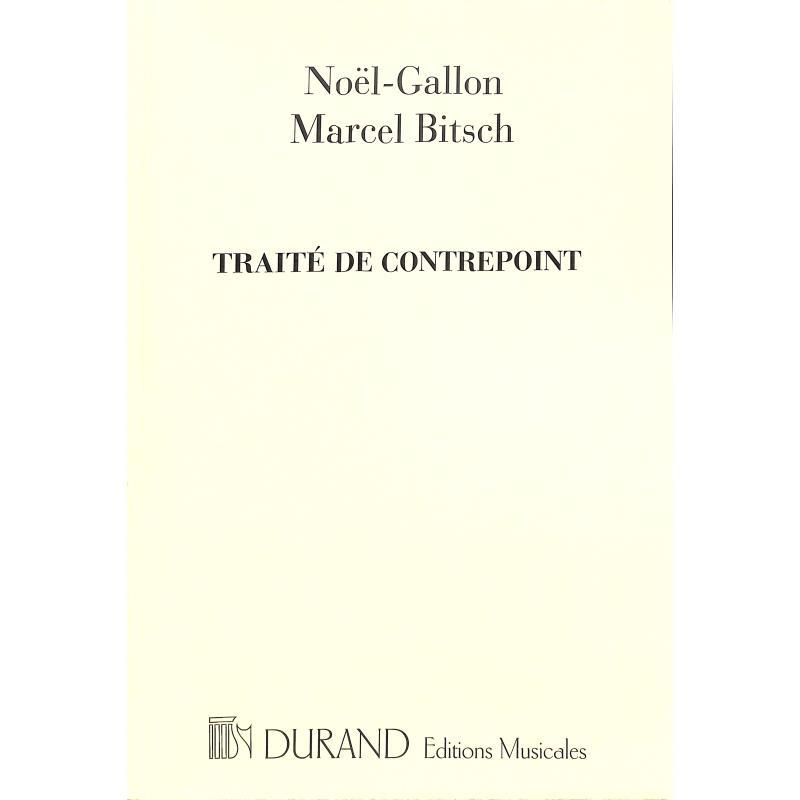 Titelbild für DUR 13955 - TRAITE DE CONTREPOINT
