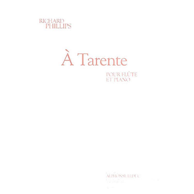 Titelbild für AL 29805 - A TARENTE