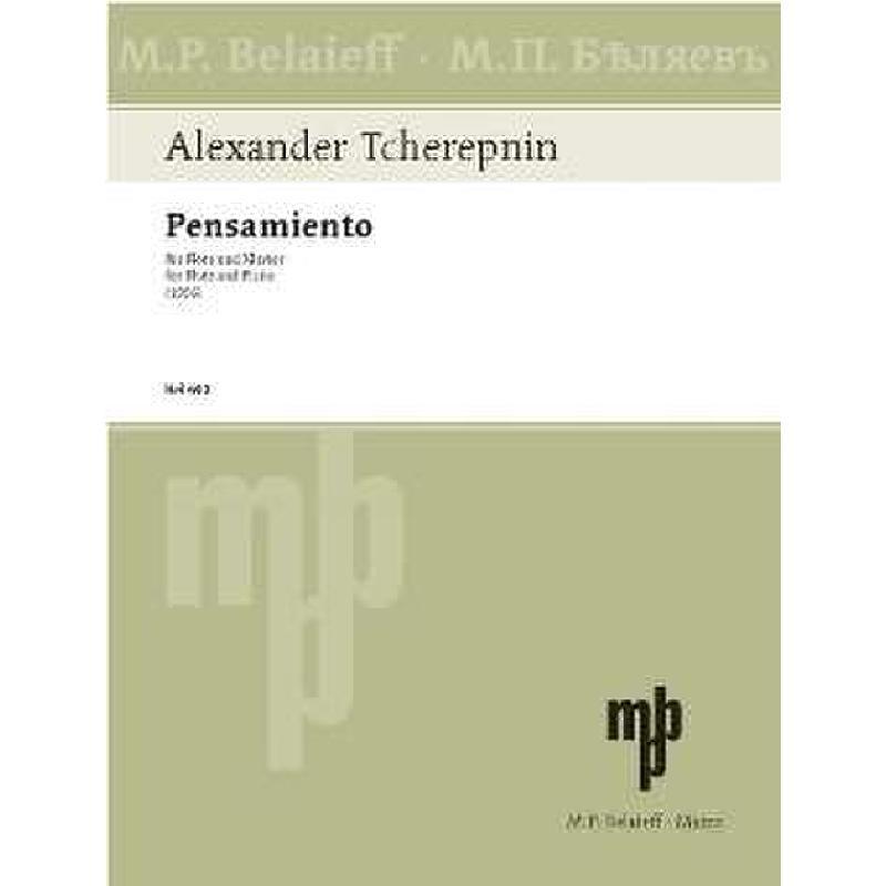 Titelbild für BEL 680 - PENSAMIENTO (1996)