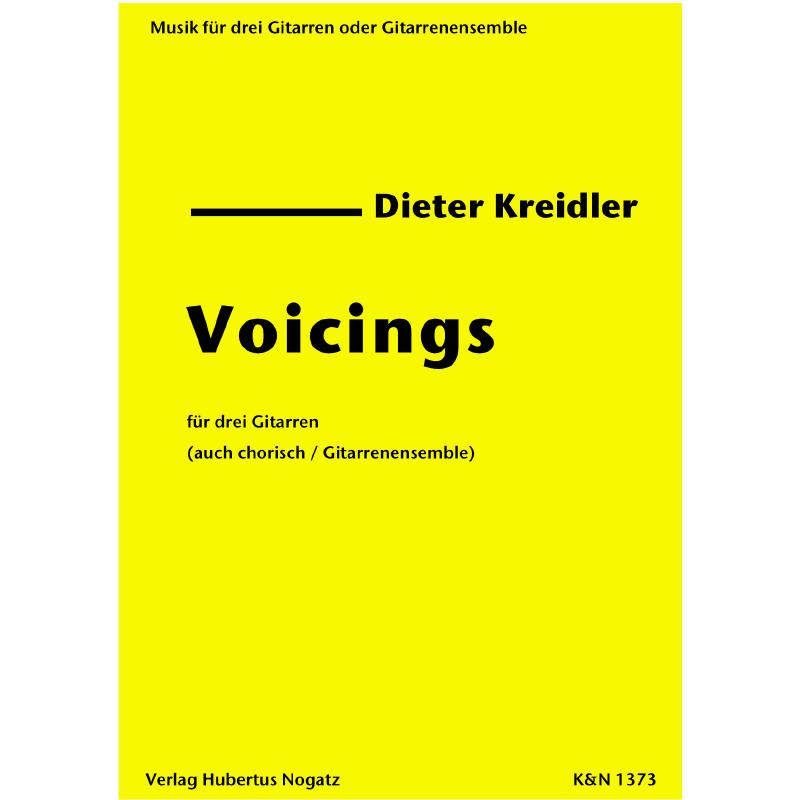 Titelbild für KN 1373 - VOICINGS
