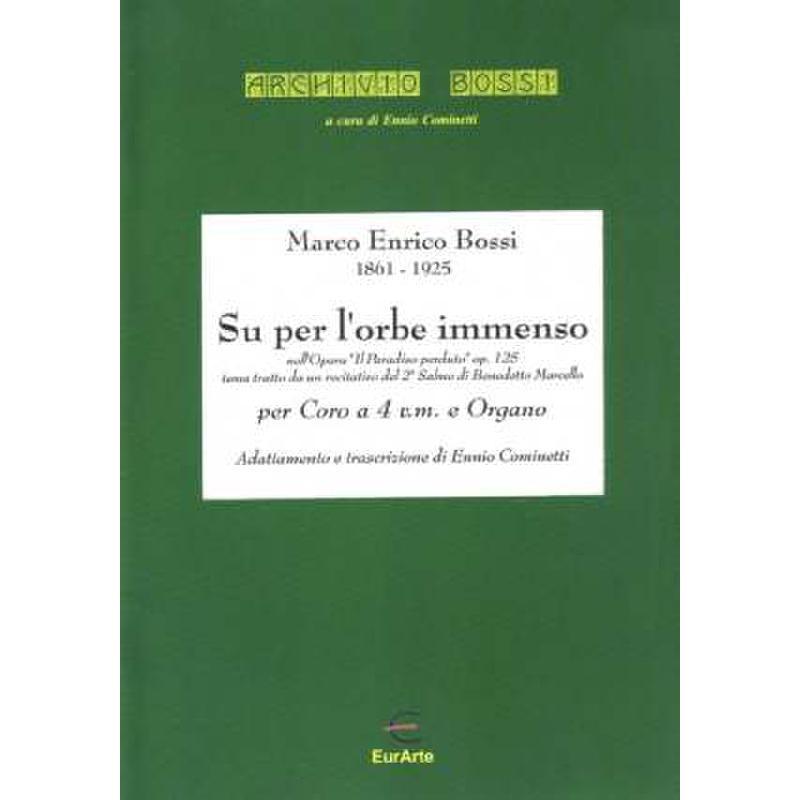 Titelbild für EAP 0231 - SU PER L'ORBE IMMENSO (IL PARADISO PERDUTO) OP 125