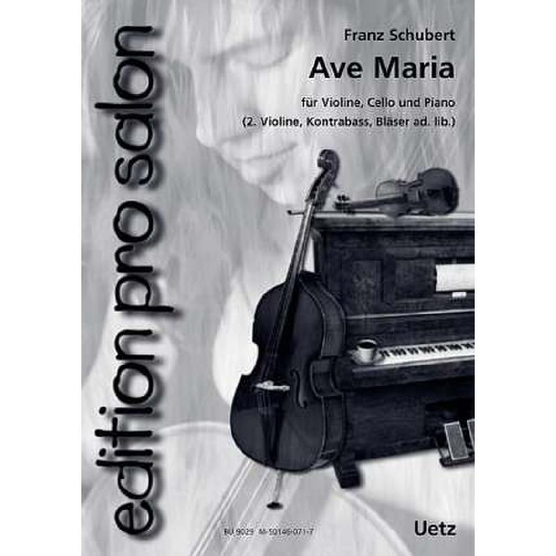 Titelbild für UETZ 9029 - AVE MARIA OP 52/6 D 839