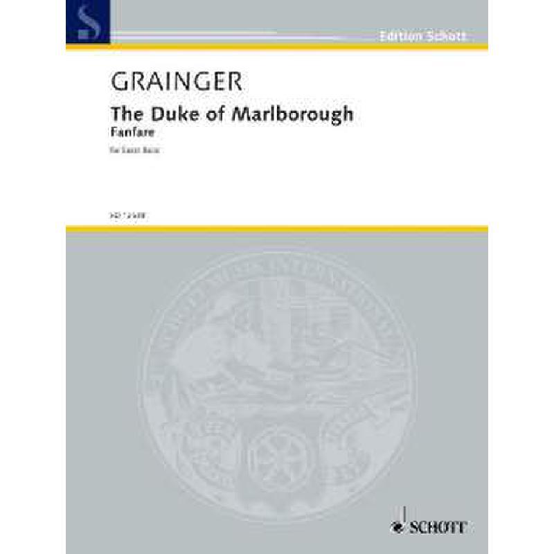 Titelbild für ED 12538 - THE DUKE OF MARLBOROUGH - FANFARE