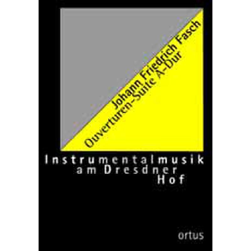 Titelbild für ORTUS 54-1 - OUVERTUEREN SUITE A-DUR