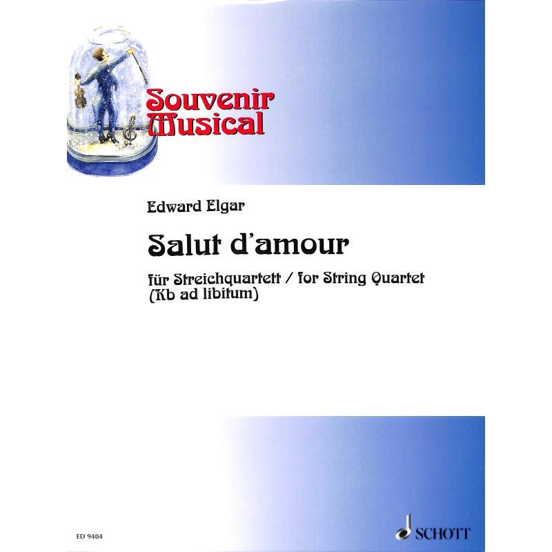 Titelbild für ED 9404 - SALUT D'AMOUR OP 12