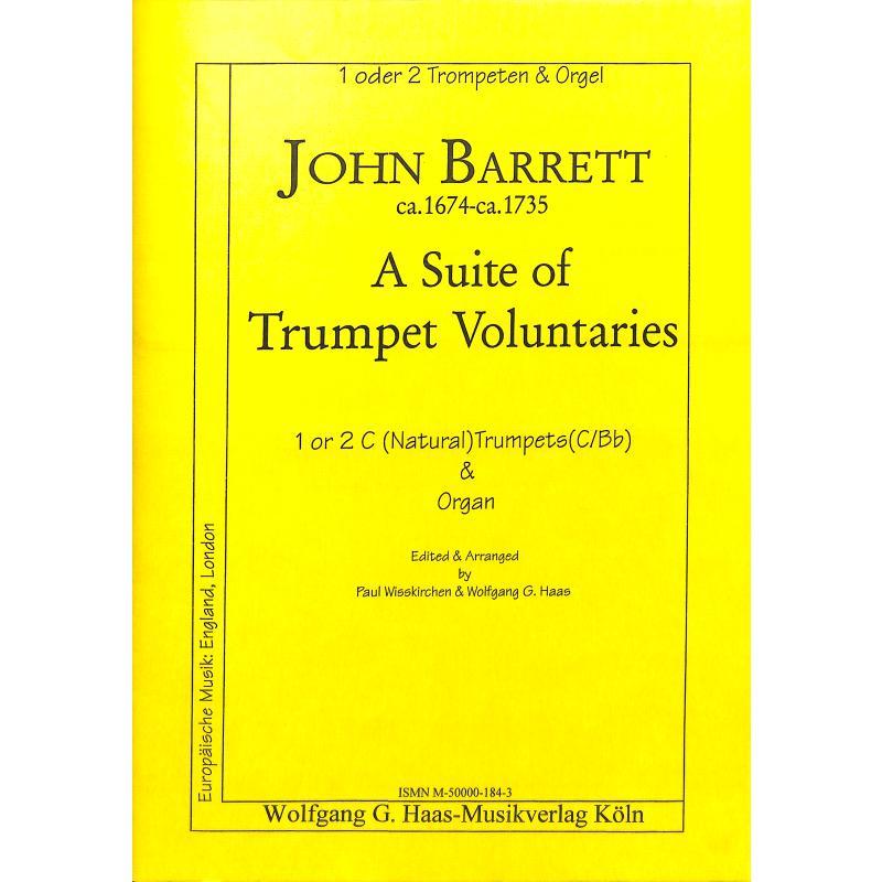 Titelbild für HAAS 184-3 - A SUITE OF TRUMPET VOLUNTARIES