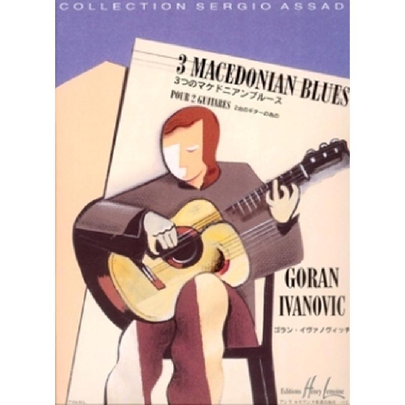 Titelbild für LEMOINE 27824 - 3 MACEDONIAN BLUES