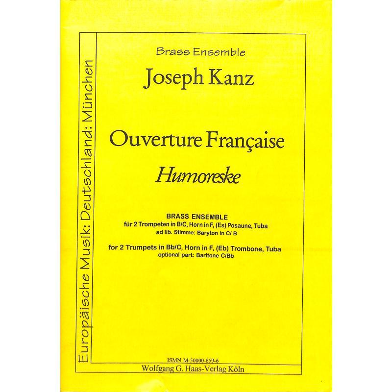 Titelbild für HAAS 659-6 - OUVERTURE FRANCAISE (HUMORESKE)