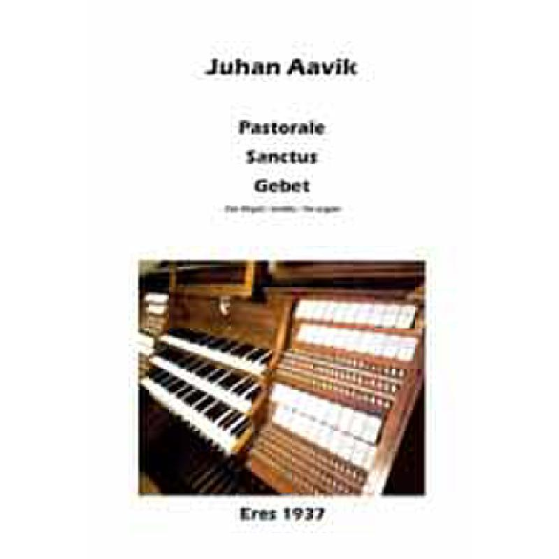 Titelbild für ERES 1937 - PASTORALE - SANCTUS - GEBET