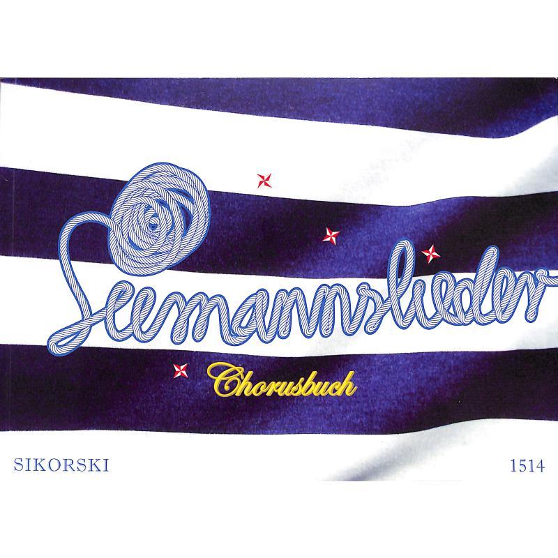 Titelbild für SIK 1514 - SEEMANNSLIEDER CHORUSBUCH