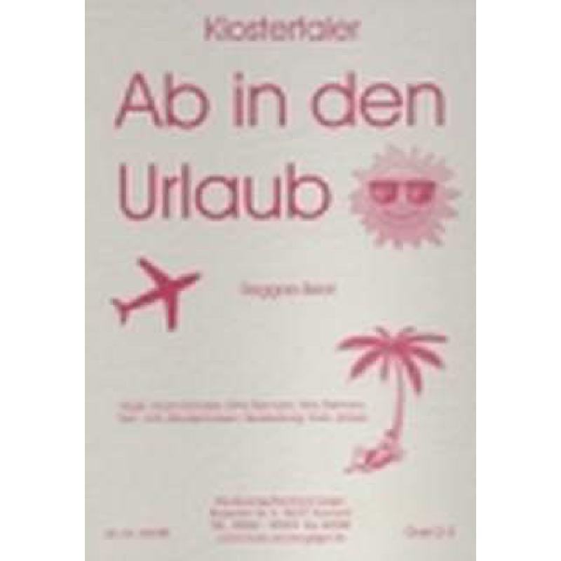 Titelbild für GEIGER 203-BB - AB IN DEN URLAUB