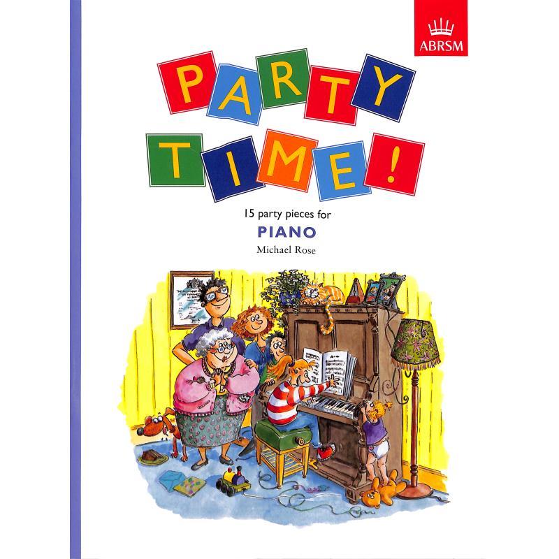 Titelbild für 978-1-85472-834-0 - Party time