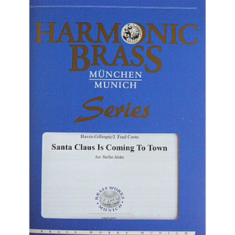 Titelbild für BWM -HBQ-062 - SANTA CLAUS IS COMING TO TOWN MEDLEY