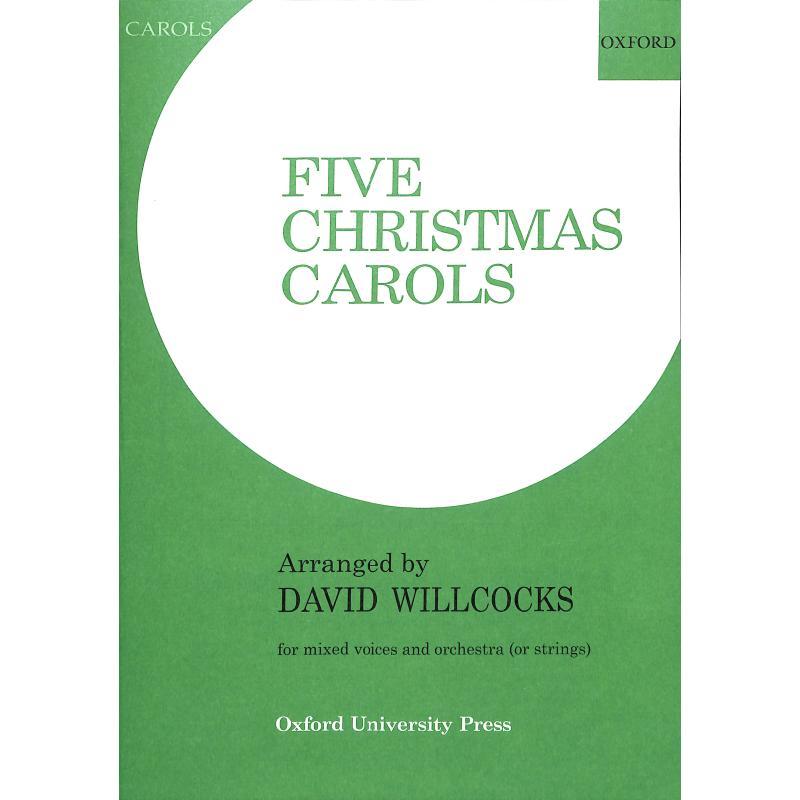 Titelbild für ISBN 0-19-353563-7 - 5 CHRISTMAS CAROLS