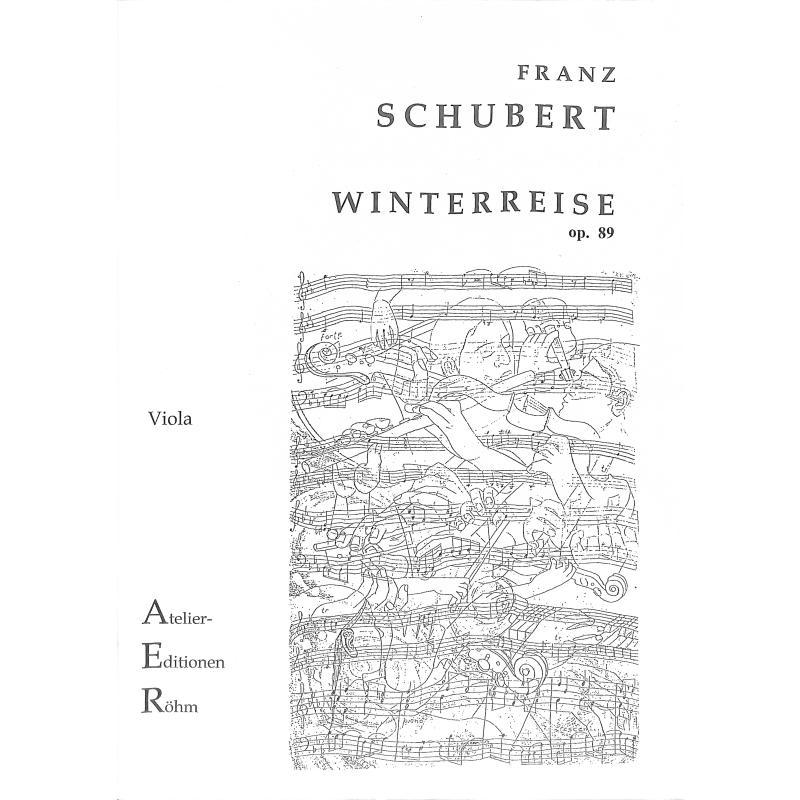 Titelbild für AER 120 - WINTERREISE OP 89 D 911