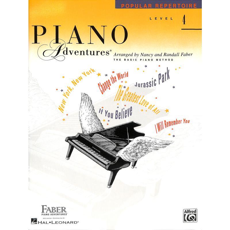 Produktinformationen zu PIANO ADVENTURES POPULAR REPERTOIRE 4 FJH 1315