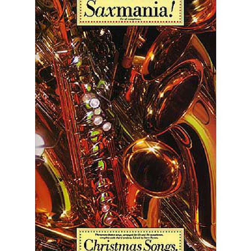 Titelbild für MSAM 92007 - SAXMANIA - CHRISTMAS SONGS
