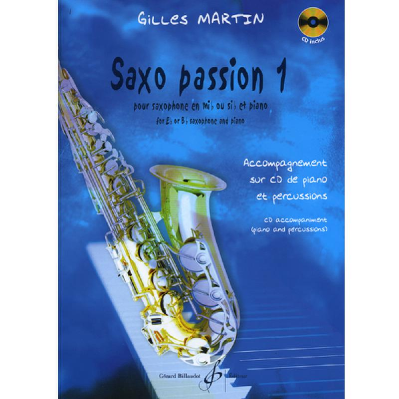 Titelbild für BILL 7961 - SAXO PASSION 1