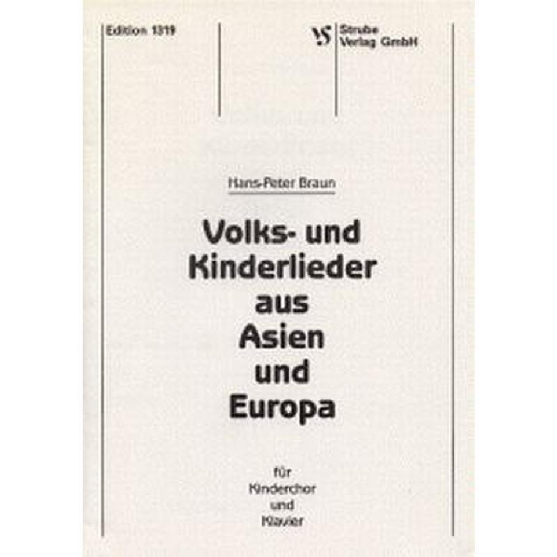 Titelbild für VS 1319 - VOLKSLIEDER + KINDERLIEDER
