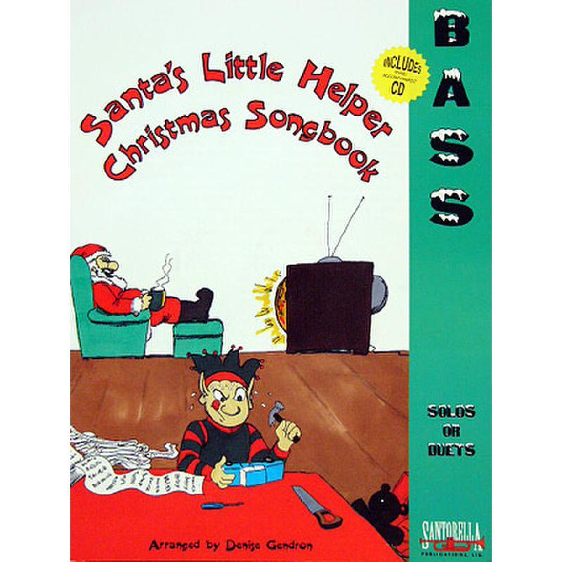 Titelbild für SANTOR -TS179WCD - SANTA'S LITTLE HELPER - CHRISTMAS SONGBOOK