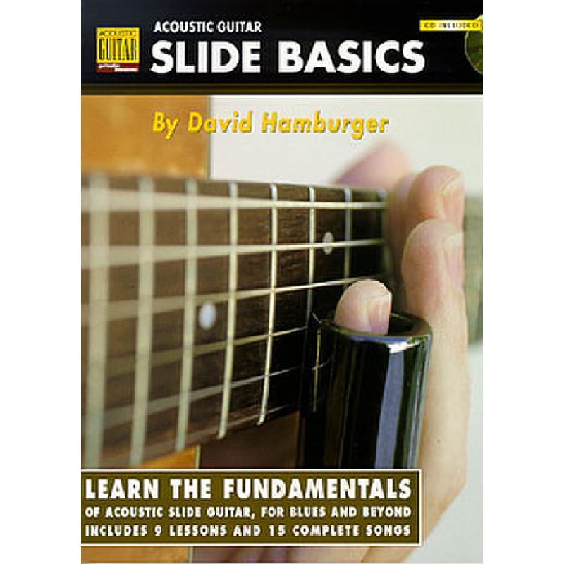 Titelbild für HL 695610 - ACOUSTIC GUITAR SLIDE BASICS