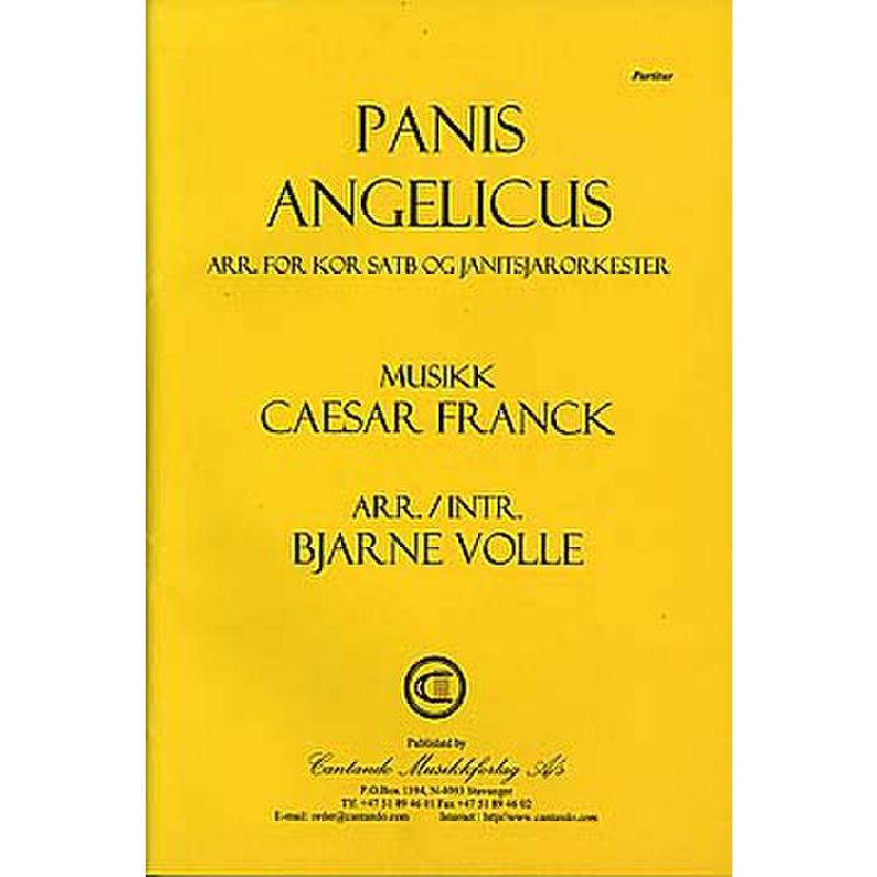 Titelbild für CANTANDO 0414P - PANIS ANGELICUS