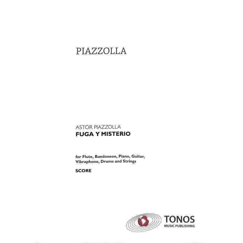 Titelbild für TONOS 20032 - FUGA Y MISTERIO
