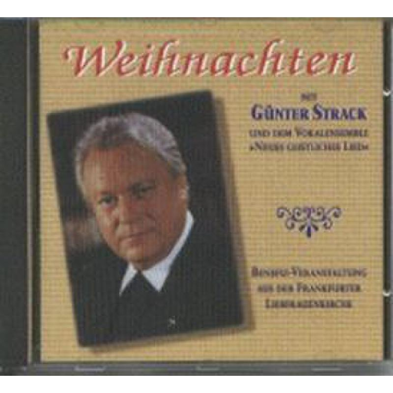 Titelbild für VS 1663-CD - WEIHNACHTEN MIT GUENTER STRACK UND