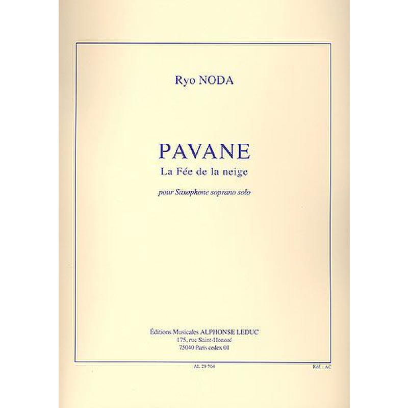 Titelbild für AL 29764 - PAVANE - LA FEE DE LA NEIGE