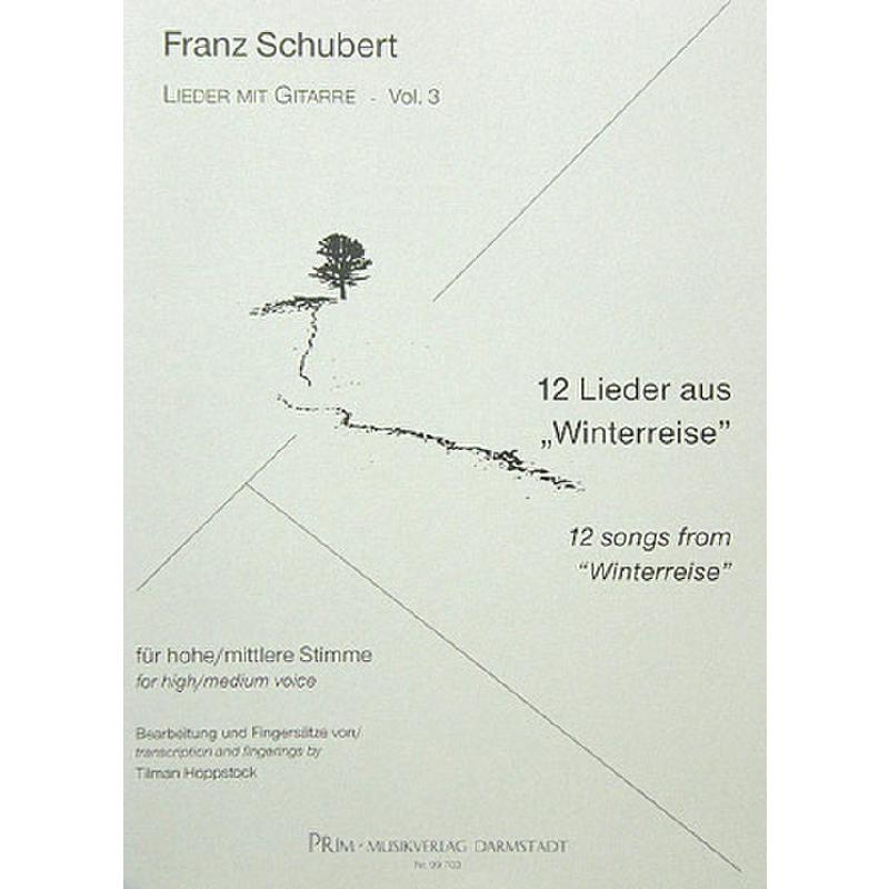 Titelbild für PRIM 99703 - 12 LIEDER AUS DER WINTERREISE