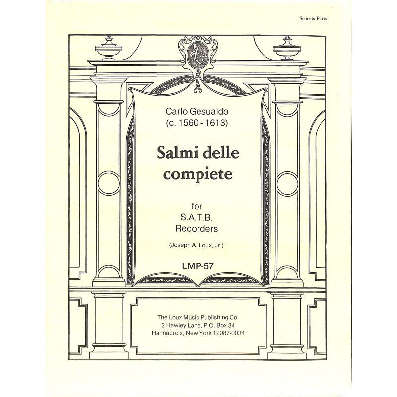 Titelbild für LOUX -LMP-57 - SALMI DELLE COMPIETE