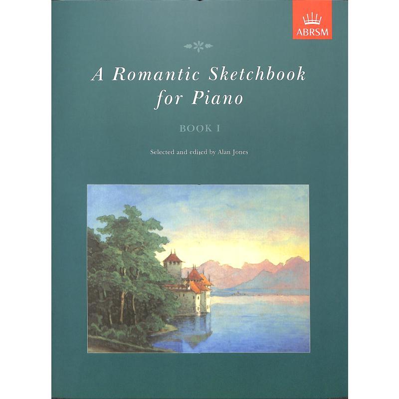 Titelbild für 978-1-85472-715-2 - A romantic sketchbook 1