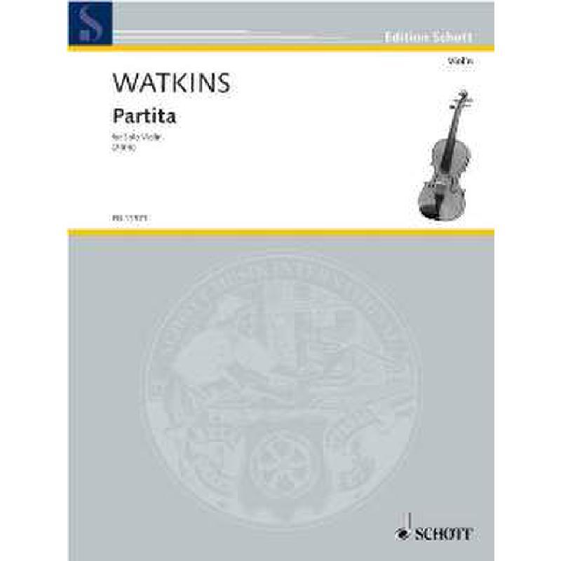 Titelbild für ED 12973 - PARTITA (2006)