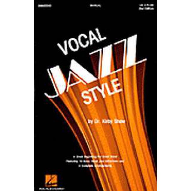 Titelbild für HL 8665580 - VOCAL JAZZ STYLE