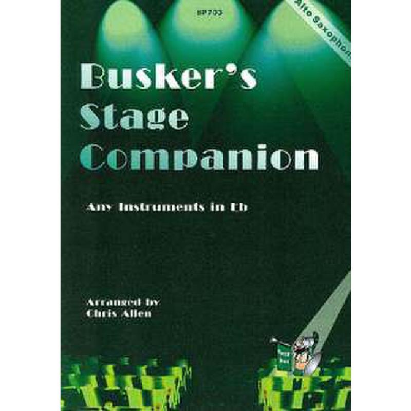 Titelbild für SPARTAN 703 - BUSKER'S STAGE COMPANION