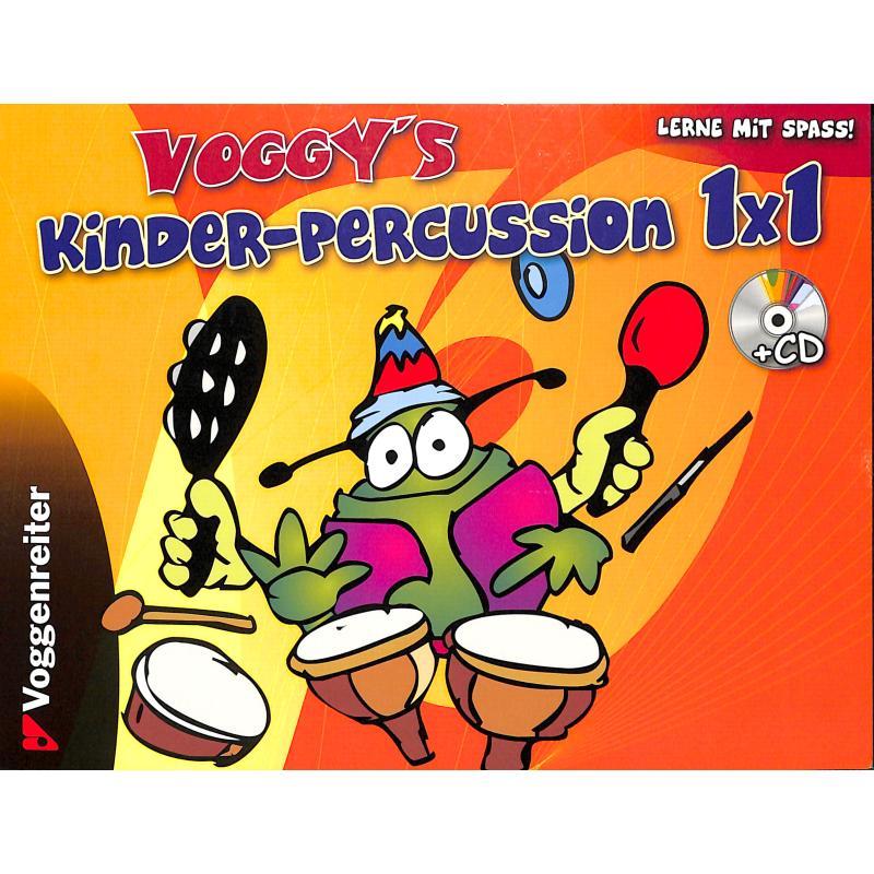 Titelbild für VOGG 0262-3 - VOGGY'S KINDER PERCUSSION 1 X 1