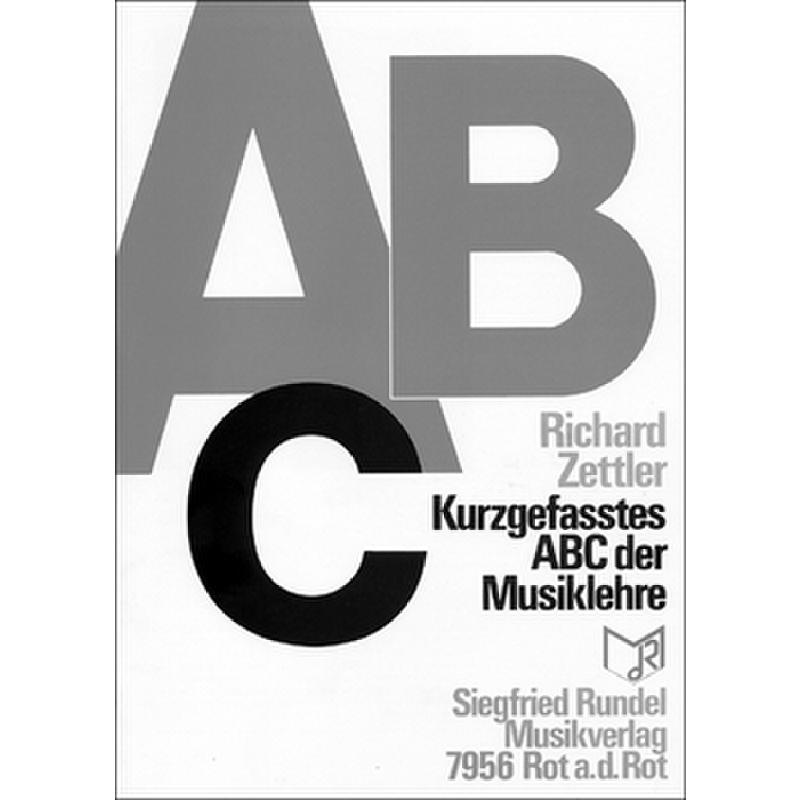 Titelbild für RUNDEL 1456 - ABC DER MUSIKLEHRE