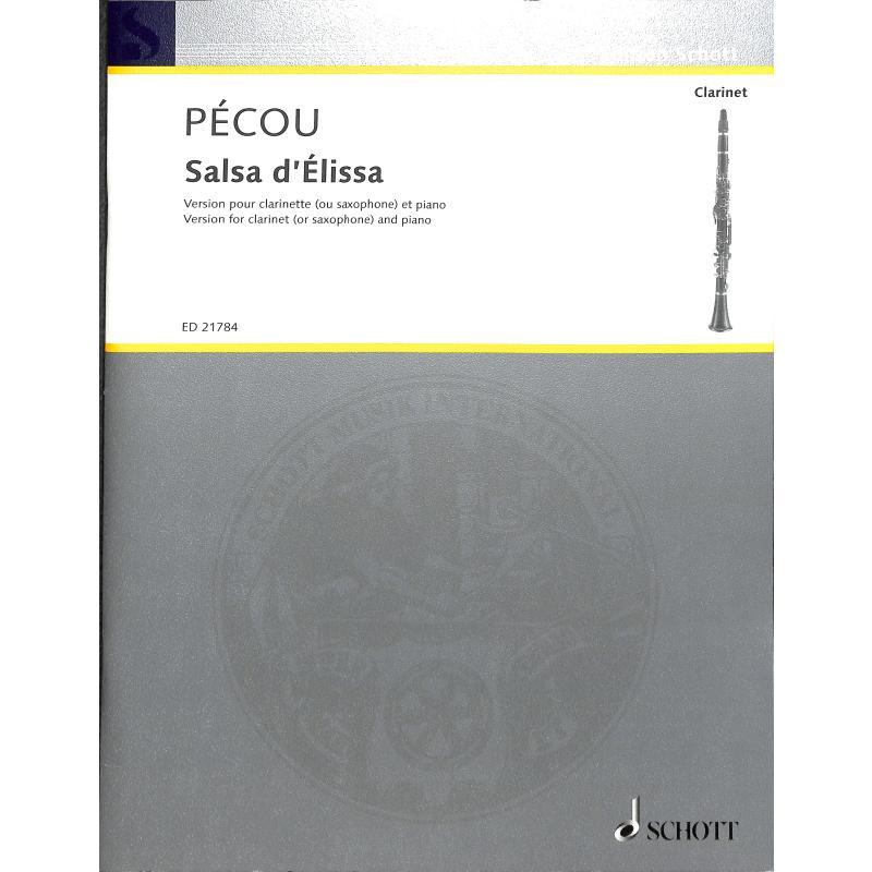 Titelbild für ED 21784 - Salsa d'Elissa