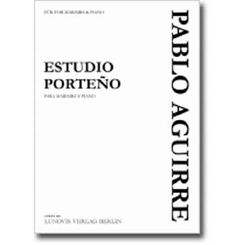 Titelbild für LVB -PA0431 - ESTUDIO PORTENO