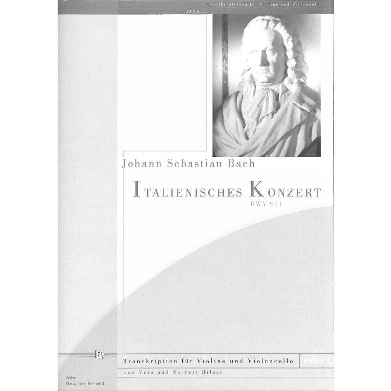 Titelbild für KAMPRAD 00-3 - ITALIENISCHES KONZERT F-DUR BWV 971