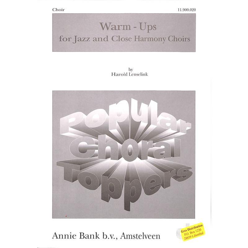 Titelbild für AB 11900020 - WARM UPS FOR JAZZ AND CLOSE HARMONY CHOIRS