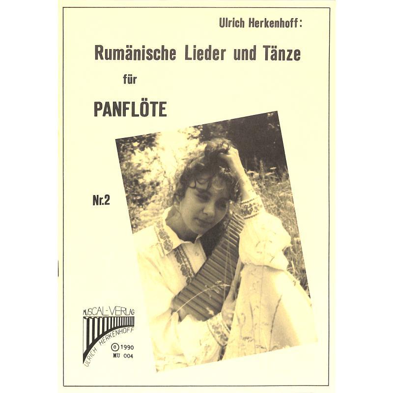 Titelbild für MU 004 - RUMAENISCHE LIEDER + TAENZE 2