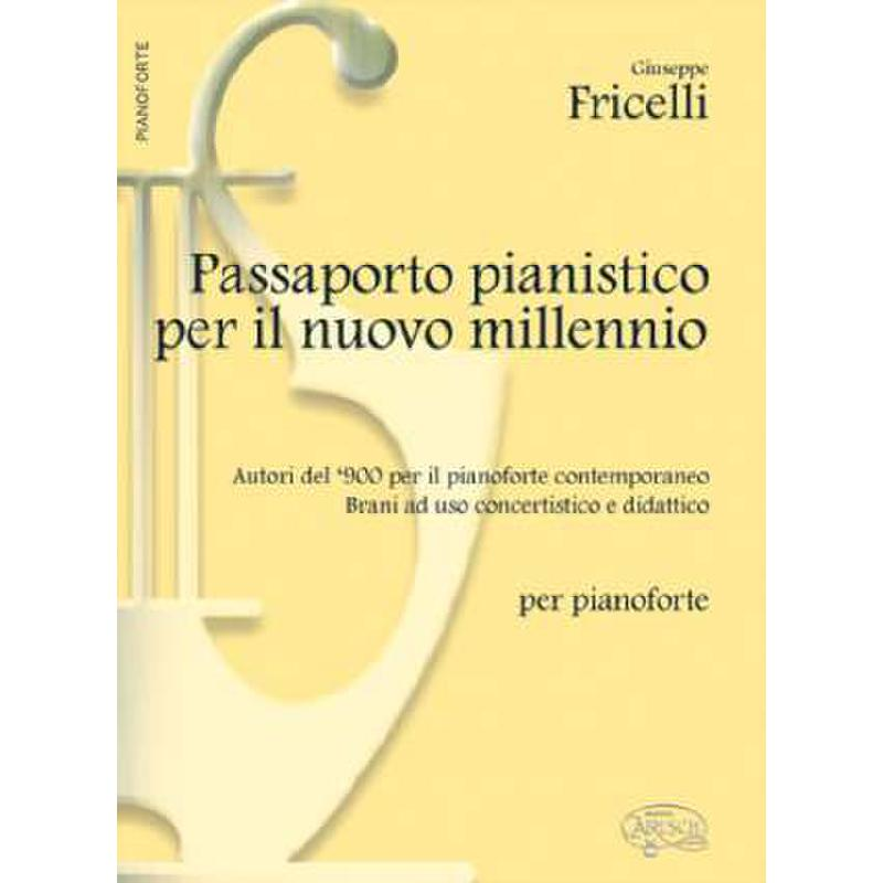 Titelbild für MK 14744 - PASSAPORTO PIANISTICO PER IL NUOVO MILLENNIO
