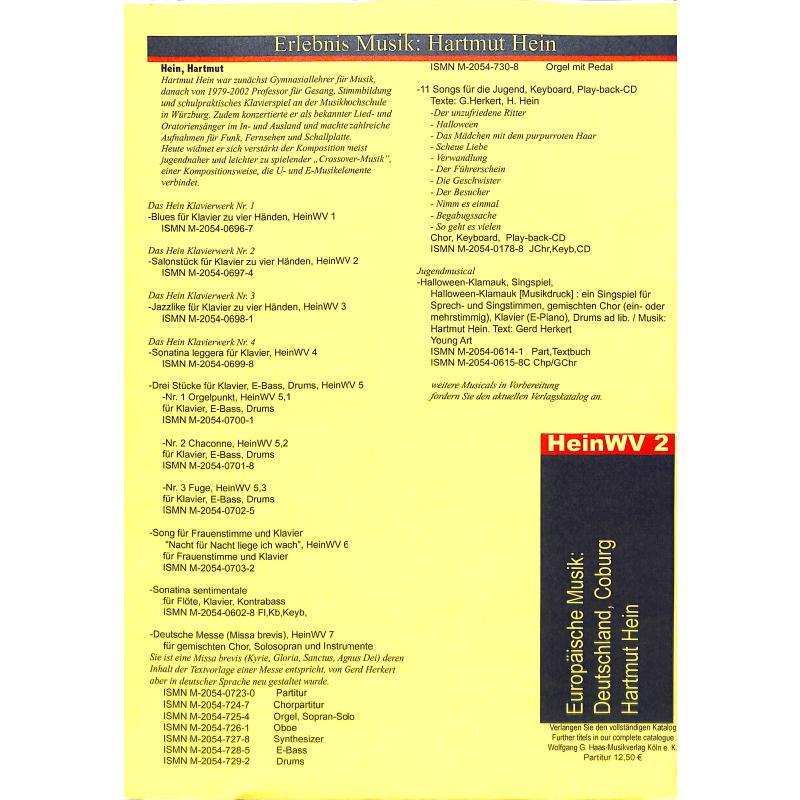 Notenbild für HAAS 0697-4 - SALONSTUECK HEINWV 2