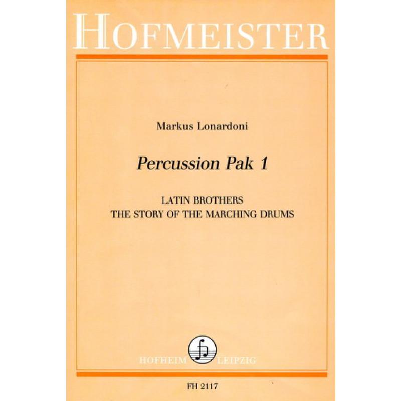 Titelbild für FH 2117 - PERCUSSION PAK 1