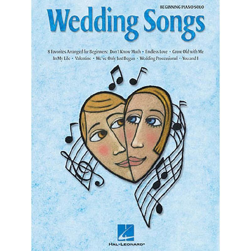Titelbild für HL 311098 - WEDDING SONGS