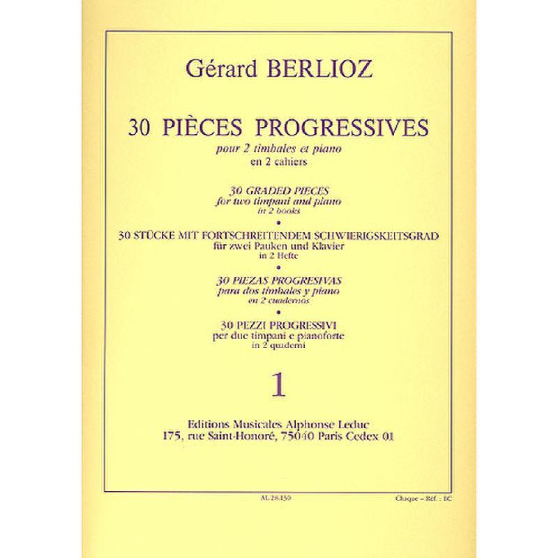 Titelbild für AL 28130 - 30 PIECES PROGRESSIVES 1